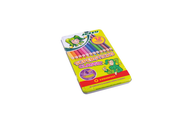 Supersticks Classic Buntstift 12 Farben