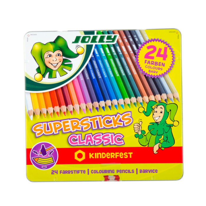 Supersticks Classic, Buntstift 24 Farben
