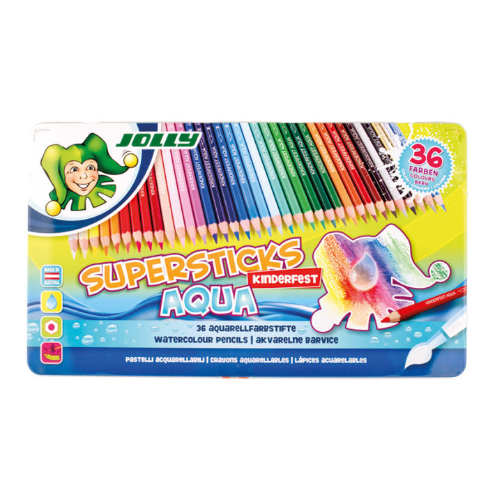 Supersticks Aqua 36 colours