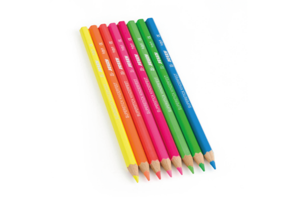 Farbstifte für Kinder Neonfarben