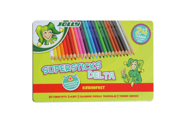 Buntstift Superstick Delta 24 Farben