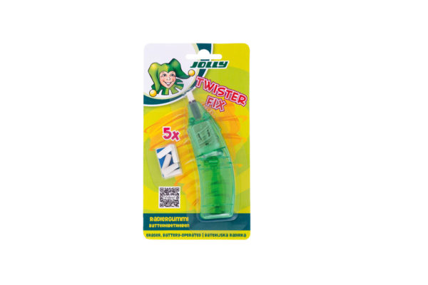 Twisterfix, Radierer, Radiergummi, mit Batterie