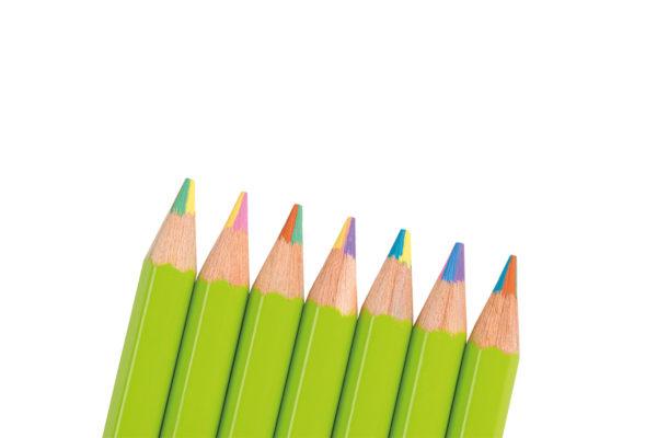 Supersticks Rainbow, crayon, colouring pencil
