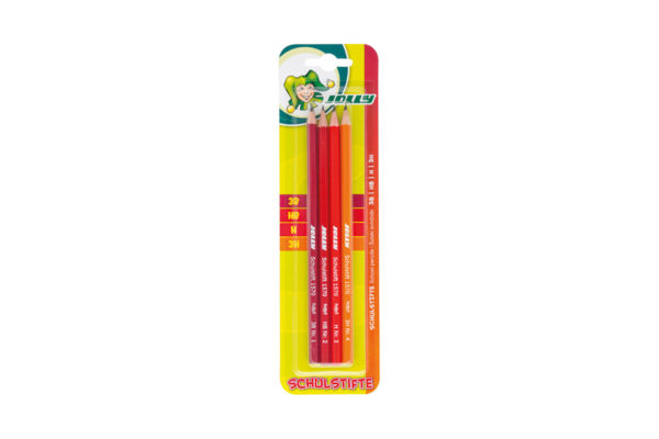 School Pencils 4 Grades Of Hardness