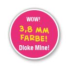 Dicke Mine!