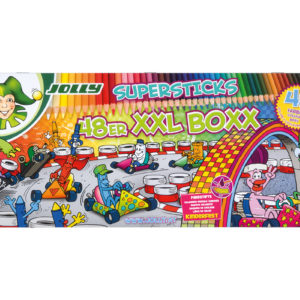 Supersticks XXL Boxx 48 Farben, Buntstifte