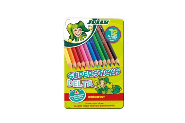 Buntstift, Farbstift, Supersticks Delta 12