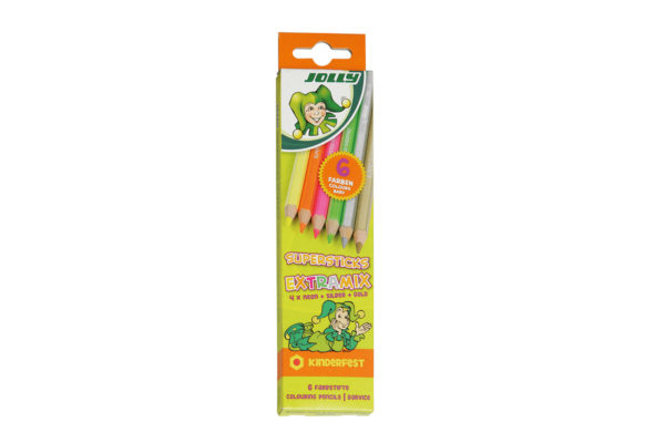 Supersticks Extramix 6 Farben