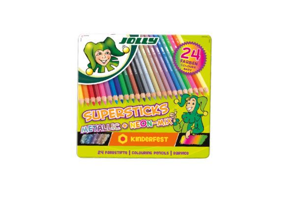 Supersticks Metallicmix 24 Farben