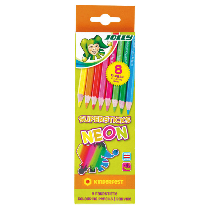 Superticks Neon 8 Farben