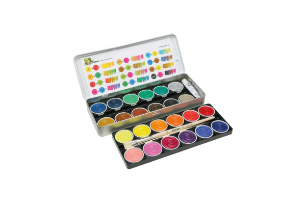 Supertabs watercolour paints 24 colours