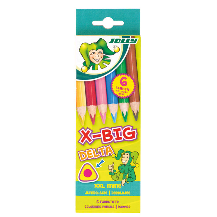 Supersticks X-BIG Delta, Buntstifte, Farbstifte