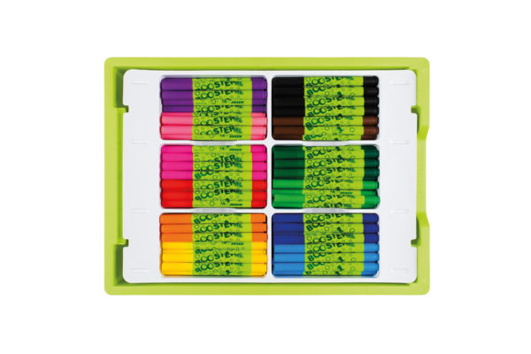 Booster XL in der BIG BOX, fibre tip pens, fibre painters, felt tip pens refillable