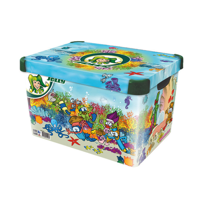 Storage Box Decor Deep Sea
