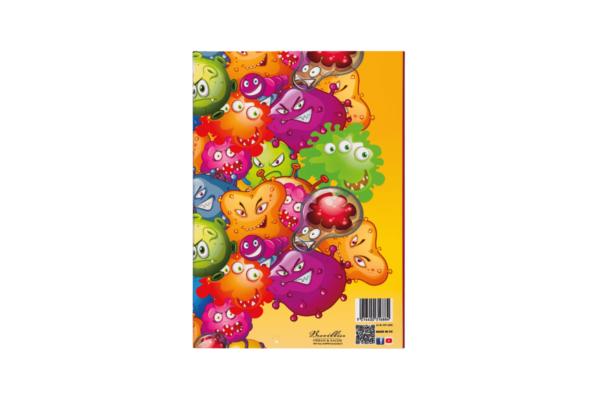 Bunte Heftbox für Hefte und Blöcke