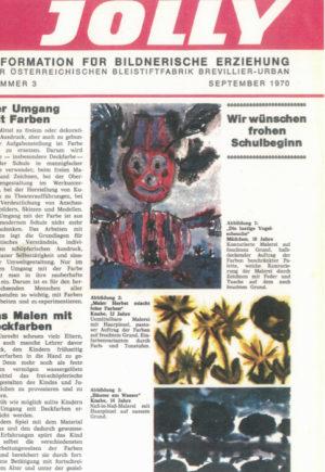 Magazin für Lehrer aus dem Jahr 1970