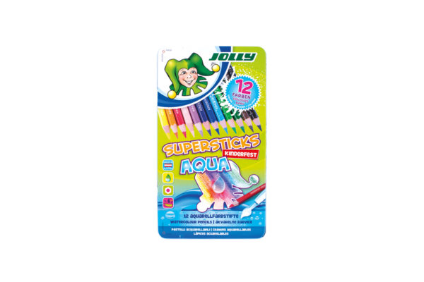 Supersticks Aqua 12 Farben
