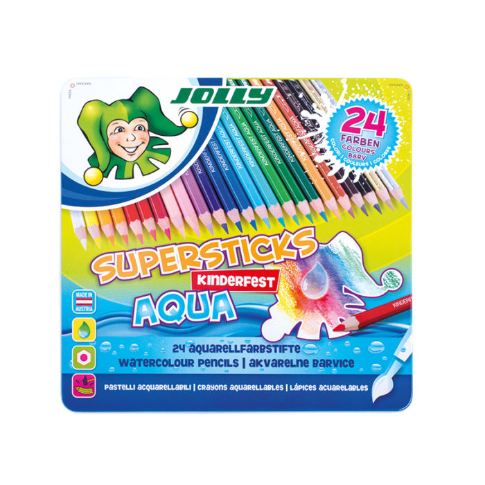Supersticks Aqua 24 Farben