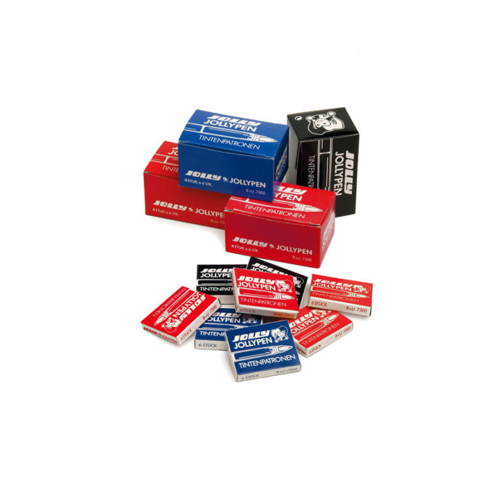 Jolly Ink Cartridges black, pink, blue, red
