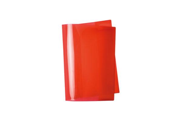 Umschlag, Heftschoner, A4, A5, Quart, rot