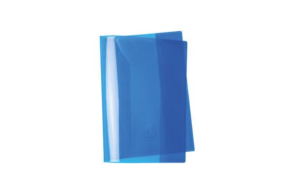 Umschlag, Heftschoner, A4, A5, Quart, blau