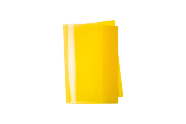 Exercise Book Cover, yellow