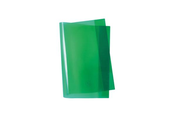 Umschlag, Heftschoner, A4, A5, Quart, grün