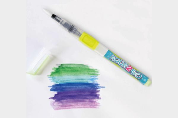 unterwegs mit Wasser malen