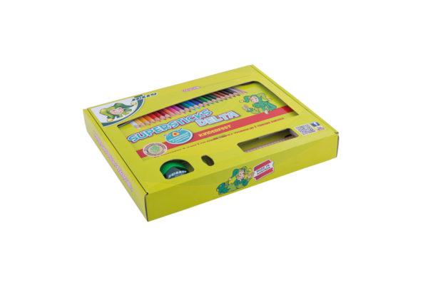 Geschenkbox Buntstifte