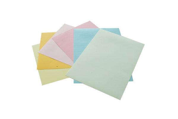 Pastellblock, Zeichenpapier farbig
