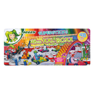 Supersticks XXL Buntstifte 48 Farben