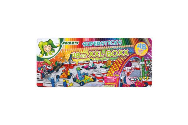 Supersticks XXL Buntstifte 48 Farben