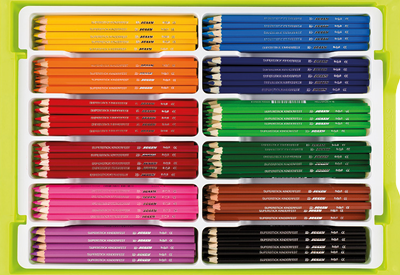Supersticks Big Boc Coloring Pencils