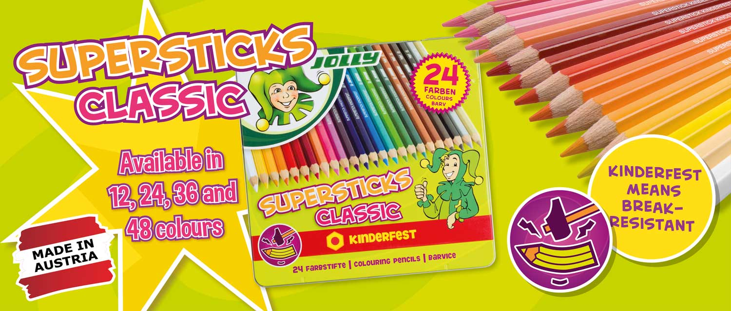 Supersticks Classic Colouring Pencils