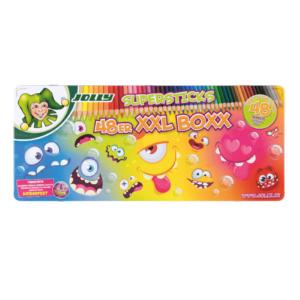 Farbstifte 48 Farben - Monsterspaß!