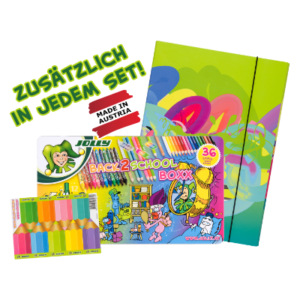 Jolly Malsachen Set inklusive!