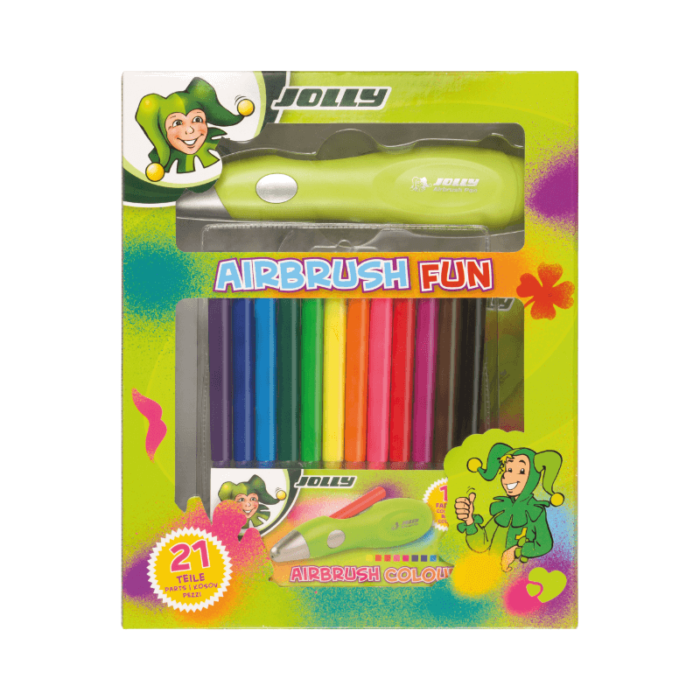 Kinder Airbrush Set
