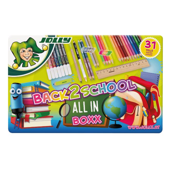 Back2School-Boxx Alles für die Schule