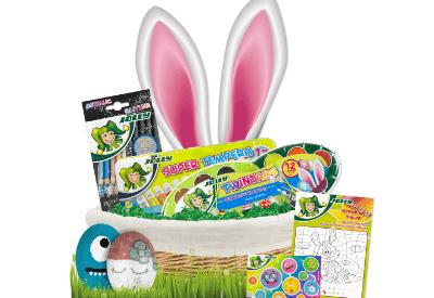 Osterset Zeichnen und Basteln für Kinder, Geschenk zu Ostern