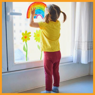 Malwettbewerb Regenbogen