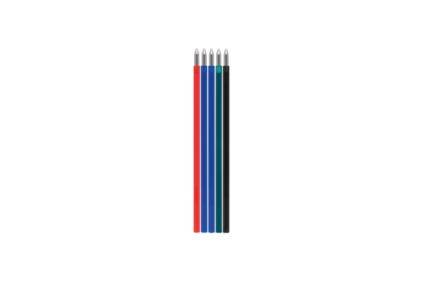 Kugelschreiber 4 Farben löschbar, Ersatzmine