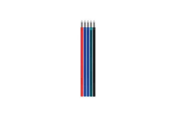 Refill for ballpoint pen erasable