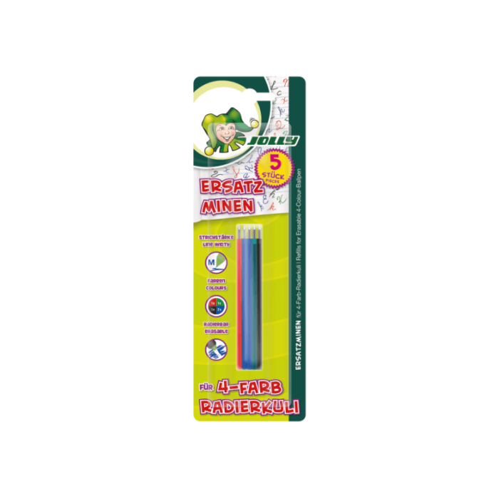 Refill for ballpoint pen erasable