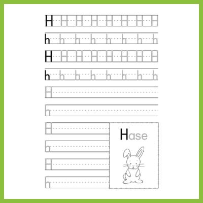 Schreibübung H