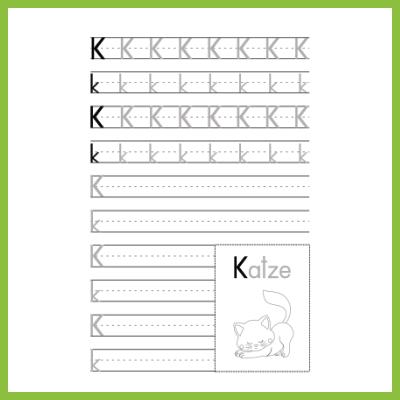 Schreibübung K