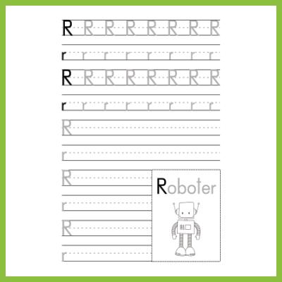 Schreibübung R