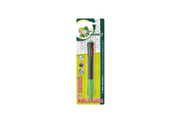 Kugelschreiber 4 Farben zum Radieren