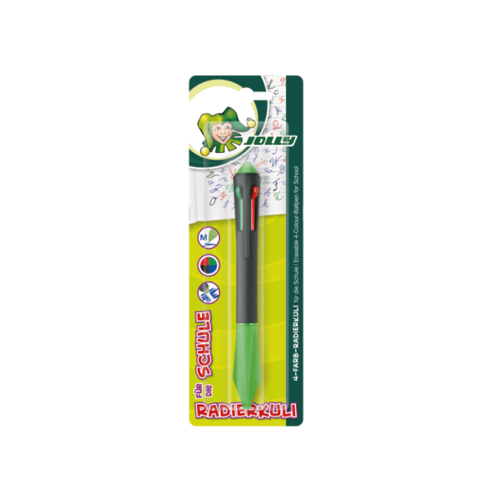 Erasable Ball Pen 4 colours