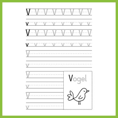 Schreibübung V