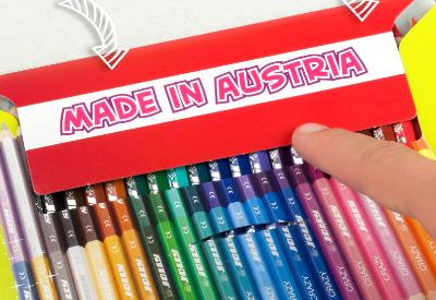 Buntstifte 2 Farben in einem Stift